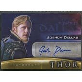 2011 Thor Movie #JD Joshua Dallas as Fandral Auto