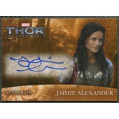 2013 Thor The Dark World #JA Jaimie Alexander as Sif Auto