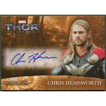 2013 Thor The Dark World #CH Chris Hemsworth as Thor Auto