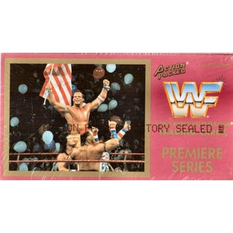 1994 Action Packed WWF Wrestling Hobby Box