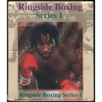1996 Ringside Boxing Series 1 Hobby Box
