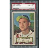 1952 Topps Baseball #267 Sid Gordon PSA 8.5 (NM-MT+)