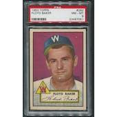 1952 Topps Baseball #292 Floyd Baker PSA 8 (NM-MT)
