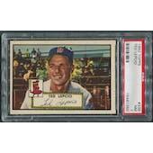 1952 Topps Baseball #335 Ted Lepcio Rookie PSA 7 (NM)