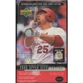 2000 Upper Deck Series 2 Baseball Hobby Box