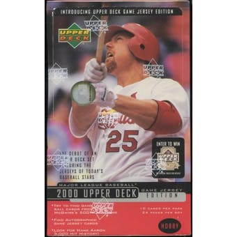 2000 Upper Deck Series 2 Baseball Hobby Box