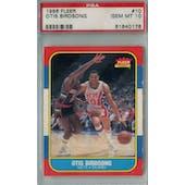 1986/87 Fleer Basketball #10 Otis Birdsong PSA 10 (GM-MT) *1078 (Reed Buy)