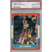 1986/87 Fleer Basketball #15 Tom Chambers PSA 10 (GM-MT) *7853 (Reed Buy)