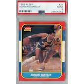 1986/87 Fleer Basketball #21 Adrian Dantley PSA 9 (MT) *5052 (Reed Buy)