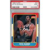 1986/87 Fleer Basketball #37 Artis Gilmore PSA 9 (MT) *9683 (Reed Buy)