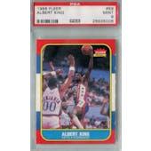 1986/87 Fleer Basketball #59 Albert King PSA 9 (MT) *5006 (Reed Buy)