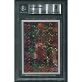 2003/04 Topps Chrome #111 LeBron James Rookie X-Fractor #083/220 BGS 9 (MINT)