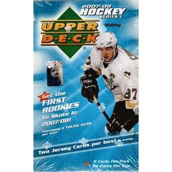 2007/08 Upper Deck Series 1 Hockey Hobby Box