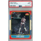 1986/87 Fleer Basketball #78 Larry Nance PSA 9 (MT) *0505 (Reed Buy)
