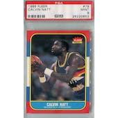 1986/87 Fleer Basketball #79 Calvin Natt PSA 9 (MT) *0853 (Reed Buy)