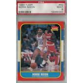 1986/87 Fleer Basketball #80 Norm Nixon PSA 9 (MT) *9340 (Reed Buy)