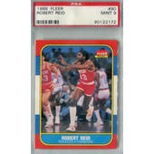 1986/87 Fleer Basketball #90 Robert Reid PSA 9 (MT) *2172 (Reed Buy)