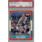 1986/87 Fleer Basketball #101 Jerry Sichting PSA 9 (MT) *4552 (Reed Buy)