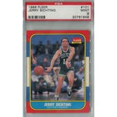 1986/87 Fleer Basketball #101 Jerry Sichting PSA 9 (MT) *1948 (Reed Buy)