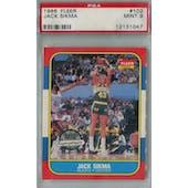 1986/87 Fleer Basketball #102 Jack Sikma PSA 9 (MT) *1047 (Reed Buy)