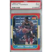 1986/87 Fleer Basketball #111 Mychal Thompson PSA 9 (MT) *8545 (Reed Buy)