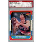 1986/87 Fleer Basketball #117 Kiki Vandeweghe PSA 9 (MT) *1951 (Reed Buy)