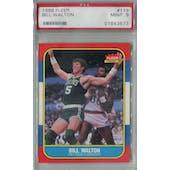 1986/87 Fleer Basketball #119 Bill Walton PSA 9 (MT) *3573 (Reed Buy)