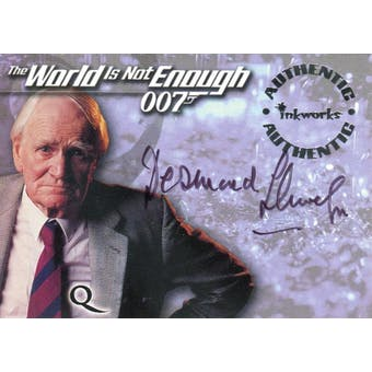 Desmond Llewelyn 1999 Inkworks 007 The World is Not Enough Q (Reed Buy)