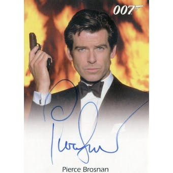 Pierce Brosnan 2010 Rittenhouse 007 James Bond Autograph (Reed Buy)