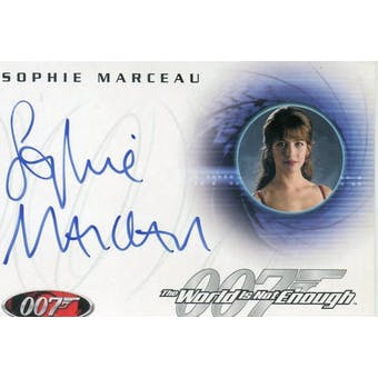 Sophie Marceau 2002 Rittenhouse 007 The World is Not Enough A28 Elektra King Autograph (Reed Buy)