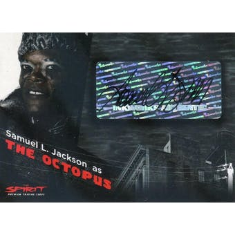 Samuel L. Jackson Inkworks The Spirit A7 The Octopus Autograph (Reed Buy)