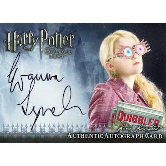 Evanna Lynch Artbox Harry Potter Half Blood Prince Luna Lovegood (Reed Buy)