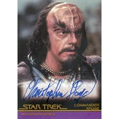 Christopher Lloyd 2007 Rittenhouse Star Trek III Search for Spock A14 Commander Kruge (Reed Buy)