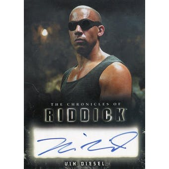 Vin Diesel Rittenhouse The Chronicles of Riddick Richard B. Riddick Autograph (Reed Buy)