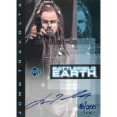 John Travolta 2000 Upper Deck Battlefield Earth #JT1 Terl #/200 (Reed Buy)