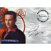 Julian McMahon 2003 Inkworks Charmed #A9 Cole Turner (Reed Buy)