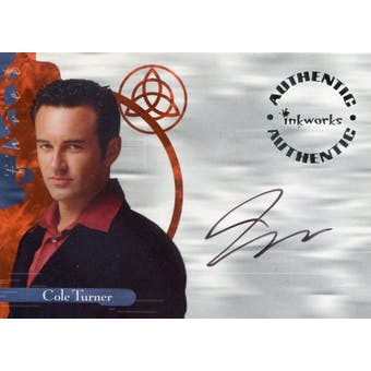 Julian McMahon 2003 Inkworks Charmed #A9 Cole Turner Autograph (Reed Buy)