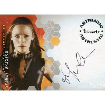 Jennifer Garner 2003 Inkworks Alias #A8 Sydney Bristow Autograph (Reed Buy)