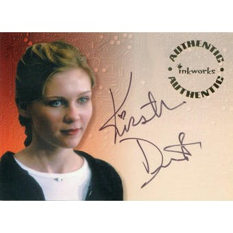 Kirsten Dunst Inkworks Small Soldiers #S2 Christy Fimple Autograph (Reed Buy)