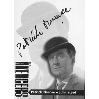 Patrick Macnee Strictly Ink The Avengers #AV3-1 John Steed Autograph (Reed Buy)
