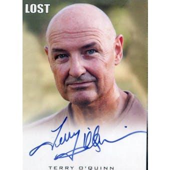 Terry O'Quinn Rittenhouse Lost John Locke Autograph (Reed Buy)