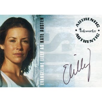 Evangeline Lilly Inkworks Lost #A-1 Kate Austen Autograph (Reed Buy)