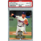 1993 Leaf Baseball #1 Nolan Ryan PSA 10 (GM-MT) *8726 (Reed Buy)