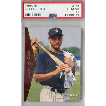 1995 Upper Deck SP #181 Derek Jeter PSA 10 (GM-MT) *8124 (Reed Buy)
