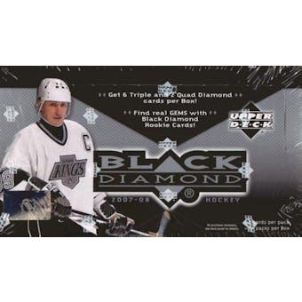 2007/08 Upper Deck Black Diamond Hockey Hobby Box