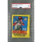 1979 Topps Baseball Wax Pack PSA 7 (NM) *6417 (Reed Buy)