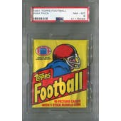 1981 Topps Football Wax Pack PSA 8 (NM-MT) *6486 (Reed Buy)