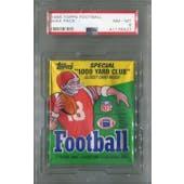 1986 Topps Football Wax Pack PSA 8 (NM-MT) *6427 (Reed Buy)