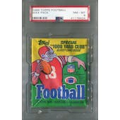 1986 Topps Football Wax Pack PSA 8 (NM-MT) *6424 (Reed Buy)