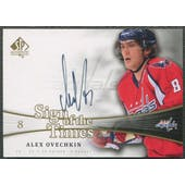 2011/12 SP Authentic #SOTAO Alexander Ovechkin Sign of the Times Auto